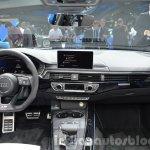 2016 Audi S4 dashboard at the IAA 2015