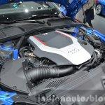 2016 Audi S4 engine bay at the IAA 2015