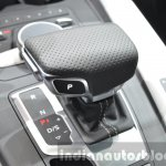 2016 Audi S4 gear selector at the IAA 2015
