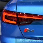 2016 Audi S4 taillamp at the IAA 2015