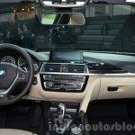 2016 BMW 330e dashboard at the IAA 2015