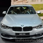2016 BMW 330e front at the IAA 2015