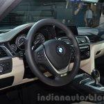 2016 BMW 330e interior at the IAA 2015