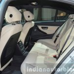 2016 BMW 330e rear seating at the IAA 2015
