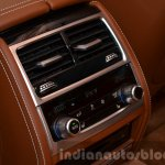 2016 BMW 7 Series Individual rear HVAC controls at the IAA 2015