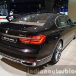 2016 BMW 7 Series Individual rear quarter at the IAA 2015