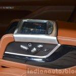 2016 BMW 7 Series Individual rear seat controls at the IAA 2015