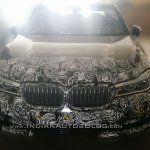 2016 BMW 7 Series front India spied