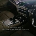 2016 BMW 7 Series interior India spied