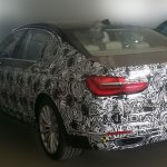2016 BMW 7 Series rear India spied