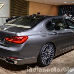 2016 BMW 7 Series rear three quarter at the IAA 2015