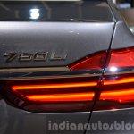 2016 BMW 7 Series taillamp at the IAA 2015