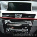 2016 BMW X1 center console iDrive at the IAA 2015
