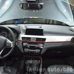 2016 BMW X1 dashboard at the IAA 2015