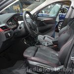 2016 BMW X1 front seats at the IAA 2015