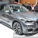 2016 BMW X1 front three quarter at the IAA 2015