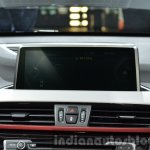 2016 BMW X1 screen at the IAA 2015