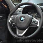 2016 BMW X1 steering wheel at the IAA 2015