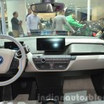 2016 BMW i3 in Fluid Black dashboard at IAA 2015