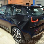 2016 BMW i3 in Fluid Black rear three quarters at IAA 2015