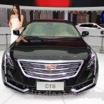 2016 Cadillac CT6 front at the 2015 Chengdu Motor Show