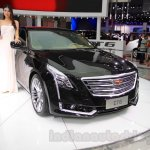2016 Cadillac CT6 front quarters at the 2015 Chengdu Motor Show