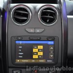 2016 Dacia Duster Media NAV system at IAA 2015