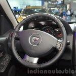 2016 Dacia Duster steering wheel at IAA 2015