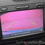 2016 Dacia Duster touchscreen display reverse camera at IAA 2015