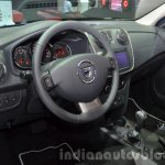 2016 Dacia Sandero Stepway with Easy-R AMT interior at the IAA 2015