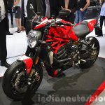 2016 Ducati Monster 1200R front three quarter at the IAA 2015