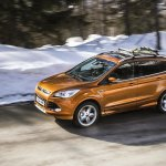 2016 Ford Kuga front three quarter unveiled