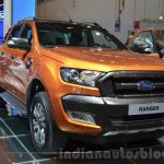 2016 Ford Ranger Wildtrak front three quarters left at IAA 2015