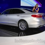 2016 Ford Taurus rear quarter at the 2015 Chengdu Motor Show