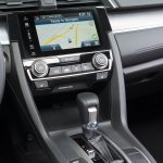 2016 Honda Civic Sedan center console unveiled