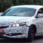 2016 Honda Civic Type R Sedan front quarter spied