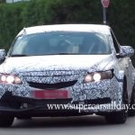 2016 Honda Civic Type R Sedan front spied