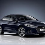 2016 Hyundai Elantra fascia press shots