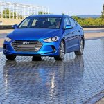 2016 Hyundai Elantra front press shots