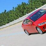 2016 Hyundai Elantra front quarters press shots