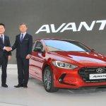 2016 Hyundai Elantra launched press shots