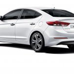 2016 Hyundai Elantra rear press shots