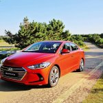 2016 Hyundai Elantra revealed press shots
