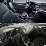 2016 Hyundai Elantra vs older model interior