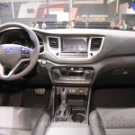 2016 Hyundai Tucson dashboard at the 2015 Chengdu Motor Show