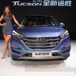 2016 Hyundai Tucson front at the 2015 Chengdu Motor Show