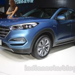 2016 Hyundai Tucson front quarter at the 2015 Chengdu Motor Show
