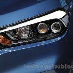 2016 Hyundai Tucson headlight at the 2015 Chengdu Motor Show
