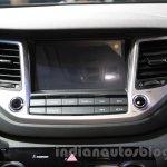 2016 Hyundai Tucson screen at the 2015 Chengdu Motor Show