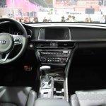 2016 Kia K5 dashboard at the 2015 Chengdu Motor Show